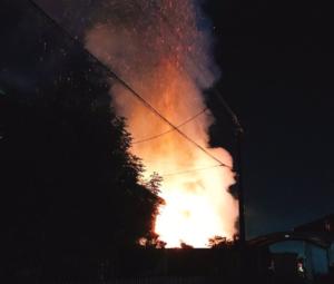 鹿児島市春山町 火災